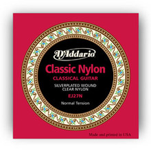 D'Addario Nylon/Silverplated Classical Guitar strings - Normal Tension