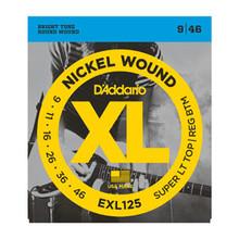 D'Addario Nickel Wound Electric Guitar String Set .09 - .046