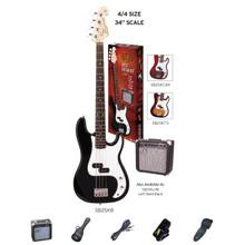 Essex PB Style Bass Guitar & Amp Pack