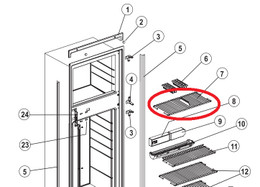 Norcold Freezer Wire Shelf 632446 (fits all N6 & N8 models)