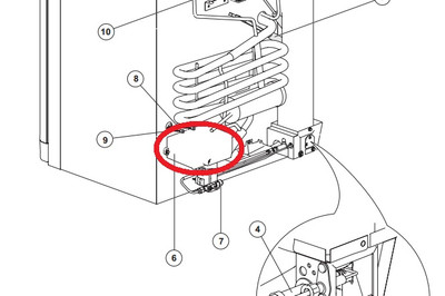 Norcold N611 Board 628661 New Style Wiring Diagram : 50