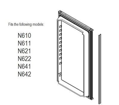 Norcold Lower Door 623955 panel door (fits the N611, N621