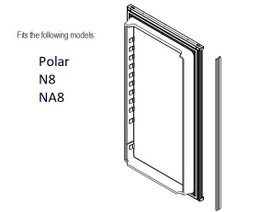 Norcold Lower Door 638534 panel door (fits the N8/ NA8)