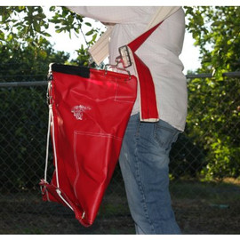 For an excellent 45 pound picking bag that doesn't wear you out, try this FGS 45 Pound Vinyl Picking Bag.