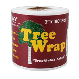 Protect your trees young and old with this Dewitt 3-Inch x 100-Foot Tree Wrap (#TWW3100)