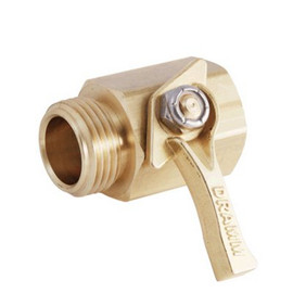 Get a valve that will last when you buy this Dramm heavy duty brass shut-off valve #300C.