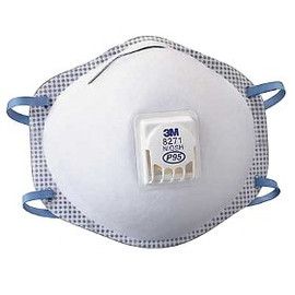 3M Particulate Respirator Masks keep you safe when you're spraying. Always have them around!