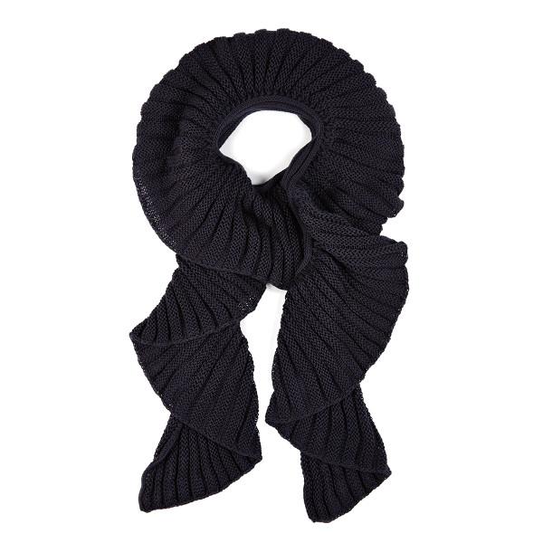 Victoria scarf - Liquorice