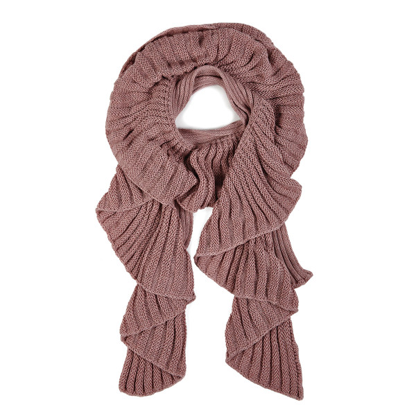 Victoria scarf - Rosewood