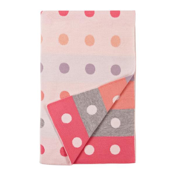 Peggy blanket - Fairyfloss (folded)