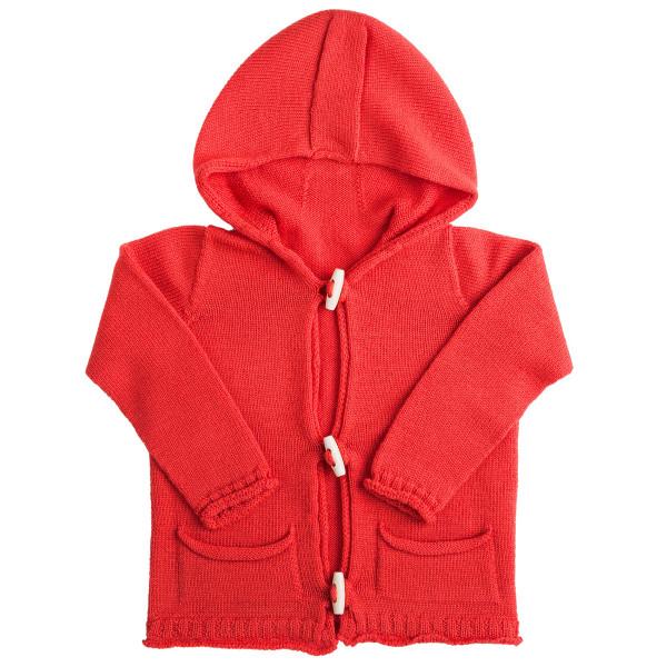 Troy hoodie - Blood Orange