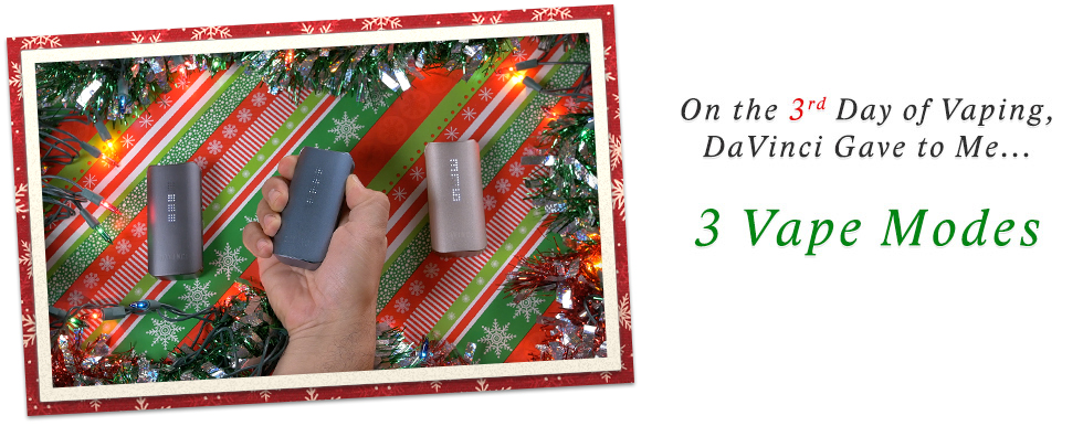 Day 3 of 12 Days of DaVinci Christmas