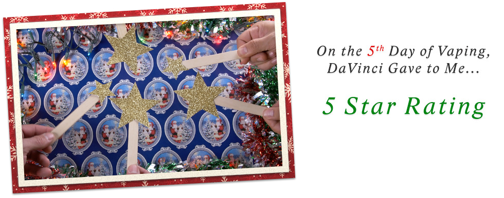 Day 5 of 12 Days of DaVinci Christmas