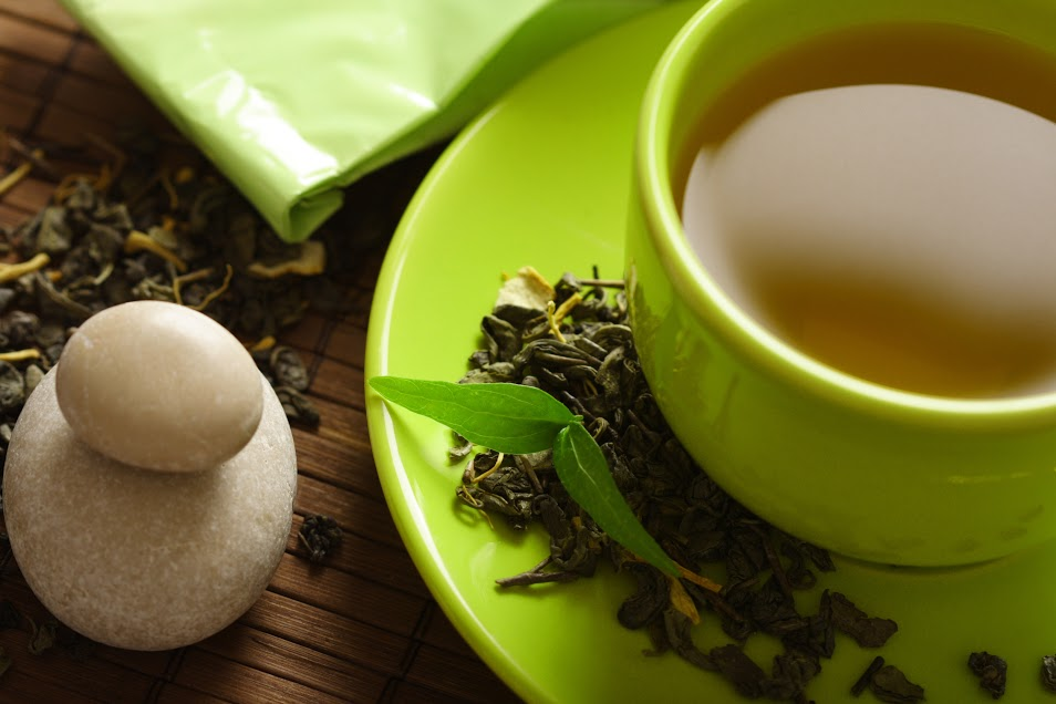 green tea to stay motivated