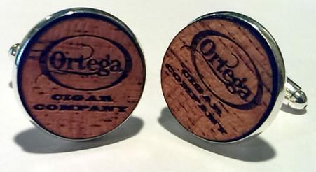 Ortega Cigar Company cufflinks