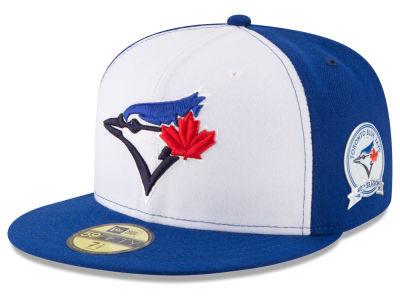 Toronto Blue Jays 40th Anniversary New Era 59FIFTY Hat