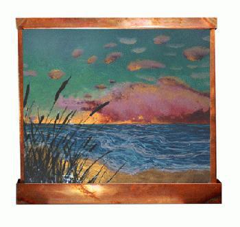 Adagio Sunrise Art Fountain