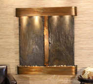Adagio Aspen Falls Wall Fountain with Slate