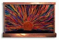 Faceted Sunrise Art Fountain