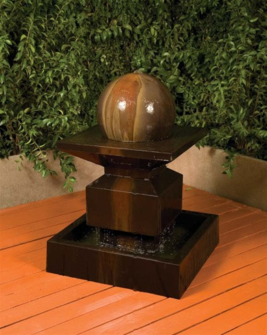 Alabaster Ball Fountain