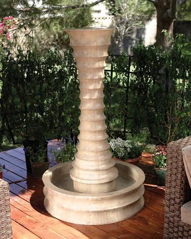 Scallop Fountain (Round)