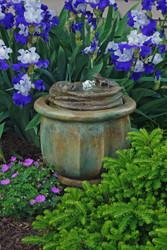 Frogs Patio Bubbler Fountain