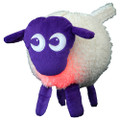 ewan the dream sheep - purple / white