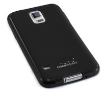 """SimplySAFE"" Ultra Slim Flexible Case for Samsung Galaxy S5 - by Devicewear"