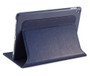 iPad Pro 9.7 Case, DEVICEWEAR Ridge - Thin Black Vegan Leather, 6 Position Flip Stand, Magnetic On/Off Switch for Apple iPad Air 3 / iPad Pro 9.7 inch