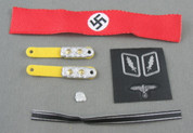 POP Toys - Badges, Pins, Armband, Swastika Armband