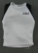 Hot Toys - Muscle Shirt - White & Black - AIM