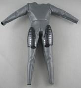Sideshow - Jump Suit - Dark Grey - Thigh Armor