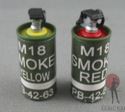 Toys City - M18 Smoke Grenades - Red & Yellow