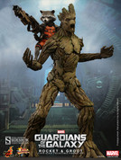 Hot Toys - Guardians of the Galaxy - Rocket and Groot