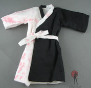 Kumik - Robe - Black & White (Blood Splattered)