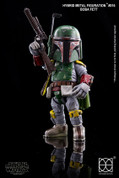HEROCROSS - Star Wars Boba Fett Diecast Action Figure (Hybrid Metal Figuration 016 )
