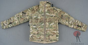 Very Hot - Military Jacket - Padded - Zipper - Multicam