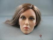 POP Toys - Female Head - Caucasian - Brunette - Long Hair