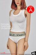 MC Toys - Female Tanktop and Underwear - White