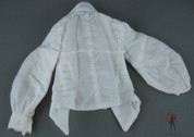 Hot TOys - ACII - Tunic/Shirt - Large Collar - Looped Buttons - White