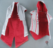 Hot Toys - ACII - Overcoat & Vest - Grey/Red/White
