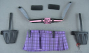 Other - Hit Girl Accessories - Skirt - Belt - Knife Pouches