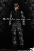 MC Toys - Black Python Camo Combat Suit
