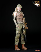 Fire Girl - Tactical Female Shooter Set