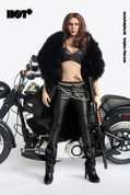 Hot Plus - Motorcycle Jacket Girl