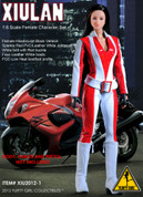 Flirty Girl - Spy Suit - Red - Xiulan - No One Lives Forever