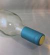 Metallic Light Blue Shrink Caps (500)