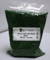 Green Bottle Wax Beads (1 lb)