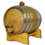 10 Liter Barrel w/ Steel Hoops