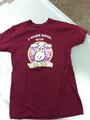 Curds and Wine logo shirt/medium